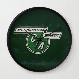 Chicago Transit Wall Clock