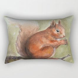 Squirrel! Rectangular Pillow