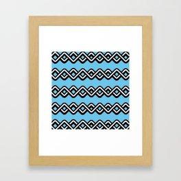 Digital weave Framed Art Print