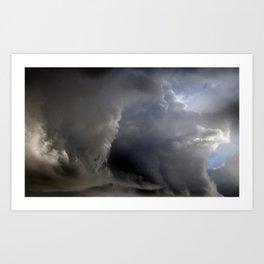 Cloud Comber Art Print