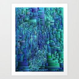 Core Net Art Print