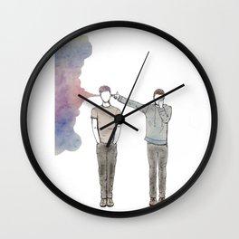 Guns For Hands. By Maria Piedra Wall Clock