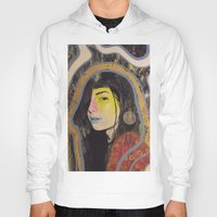 "indigo Hoodies featuring ""Indigo""  by Kazimir Simpson"