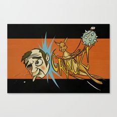 Kangaroo Attack! Canvas Print