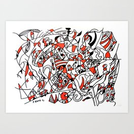 Abstract 20 Art Print