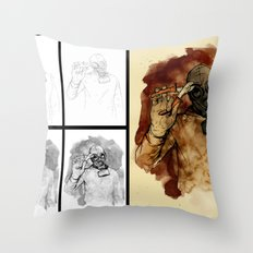 Start Talkin' (Process) Throw Pillow