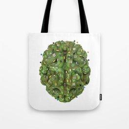 Circuit brain Tote Bag