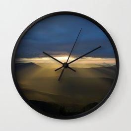 Sunrise Lightfall I Wall Clock
