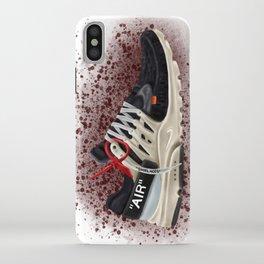 OFF WHITE PRESTO iPhone Case
