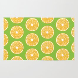 Orange slices Rug