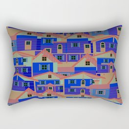 Houses pattern6 Rectangular Pillow