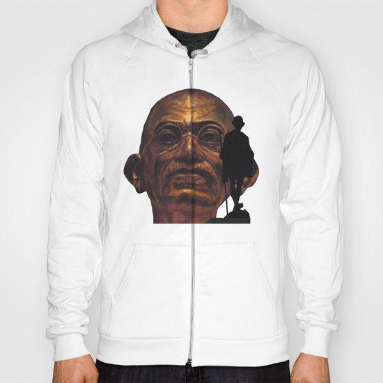 Gandhi - the walk - orange version Hoody