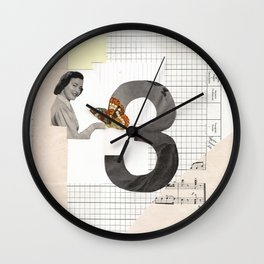 3 - Butterfly March Wall Clock