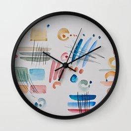 Pensierini della sera Wall Clock