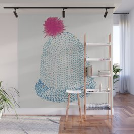 Knitted hats Wall Mural
