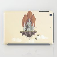 low poly iPad Cases featuring Low Poly Autumn Bear by scarriebarrie