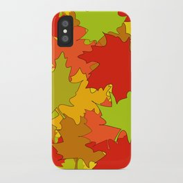 Autumn Leaves / Fall / Höst  iPhone Case