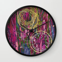 The Velocity of the Venom Antidote (Aligning Forces) Wall Clock