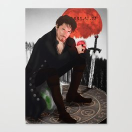 Look At Me You Want Me More Canvas Print