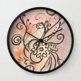 Kinetic Floret Wall Clock