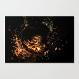 water Fire Canvas Print