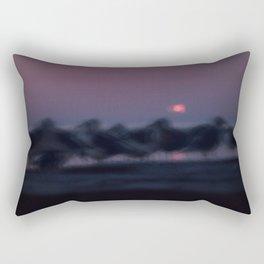 Seagull Sunset Parade Rectangular Pillow
