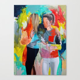 Sam and Mon Canvas Print