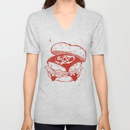 Beelzeburger in Heinz Unisex V-Neck