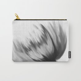 Gray chrysanthemum Carry-All Pouch
