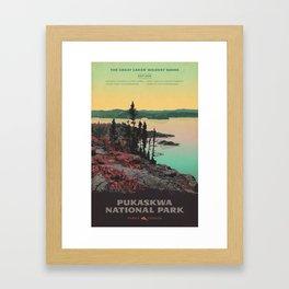 Pukaskwa National Park Framed Art Print