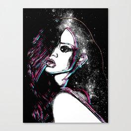 Diamonds In The Sky. Canvas Print