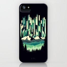 Sunrise in Vertical - Winter Blues iPhone Case