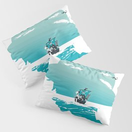 The King of Pirates Pillow Sham