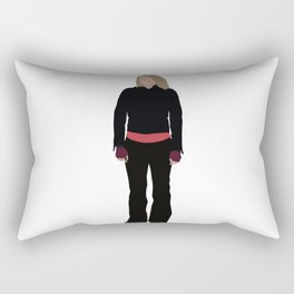 Rose Tyler: Bad Wolf Rectangular Pillow