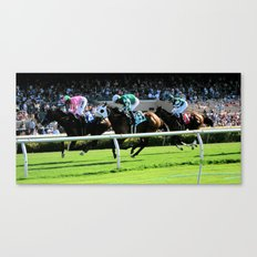 Trifecta- Day at the Downs Canvas Print