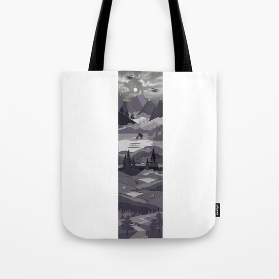 Up The Mountains Tote Bag