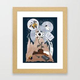 Tribute to Wall-e Framed Art Print