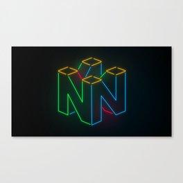 SIXTY FOUR Canvas Print