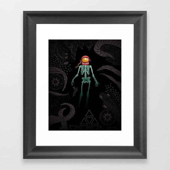 Eternal Celestial Sarcophagus Framed Art Print