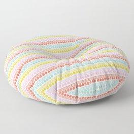 Pom Pom Fringe Floor Pillow