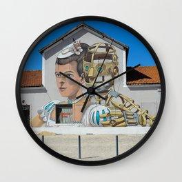 Street Art Lisbon Wall Clock