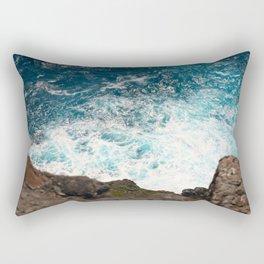 Rough Waters Rectangular Pillow