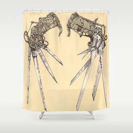 Scissorhands(Antique) Shower Curtain