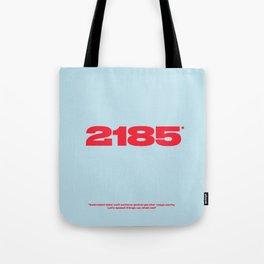 2185 Tote Bag