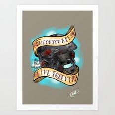 Rico's Roughnecks Art Print