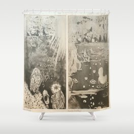 Under The Sea. Some things are better down where it's wetter take it from me Shower Curtain