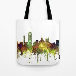 Lansing, Michigan Skyline - Safari Buff Tote Bag