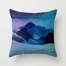 Enchanted Mountain Throw Pillow