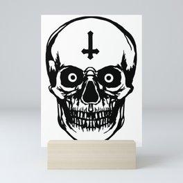 Most Ugly Satanic Skull Mini Art Print