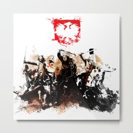 Polish Power Metal Print